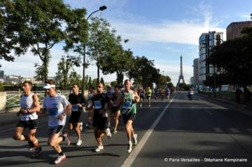 course paris versaille